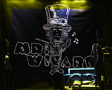 Mr. Wizard Backdrop